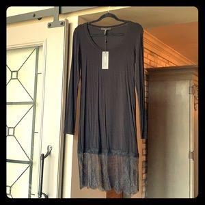 BCBG long sleep dress size medium